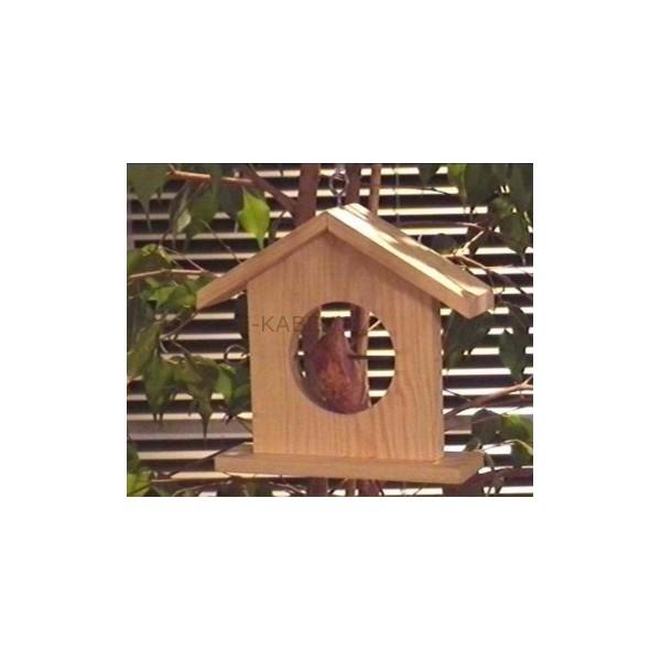 Hustawka Ogrodowa Drewniana Czestochowa : Karmnik dla sikorek  ekabex  Meble ogrodowe z drewna