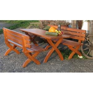 Drewniany zestaw ogrodowy STRONG