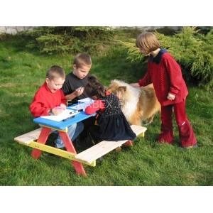 Dziecięcy zestaw ogrodowy piknikowy