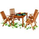 Drewniany fotel z serii HOLIDAY